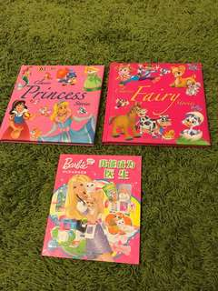 Classic stories for girls and Barbie wants to be a doctor (Jian ti with hanyupinyin)