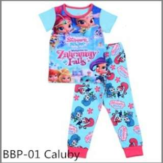 Shimmer and shine sleep wear set