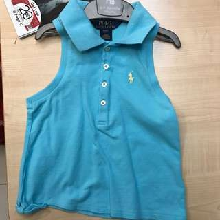 Ralph Lauren Girl's Polo