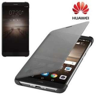 華為 Huawei mate 9 原裝 保護套 黑色 皮套 翻頁 smart view flip case
