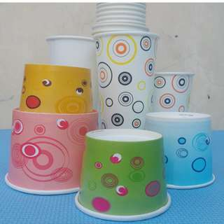 Printed paper cup and paper bowl Generic prints