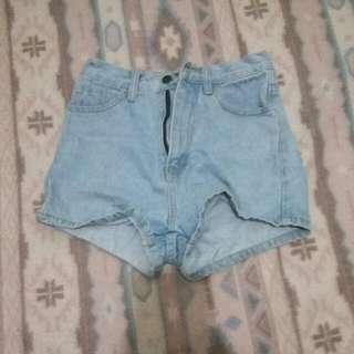 Aland denim shorts 牛仔短褲