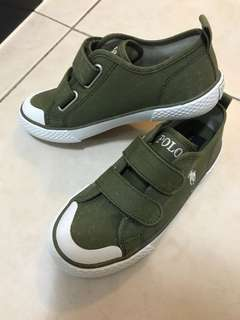 Polo Ralph Lauren Canvas Shoe