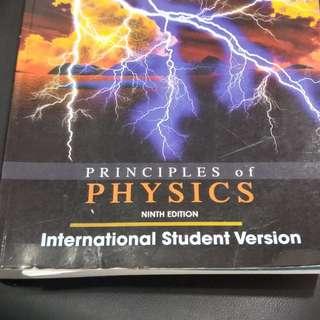 大學原文書 普通物理 普物 Physics 近全新