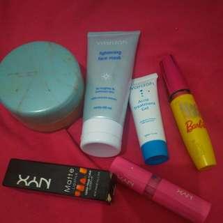 Paket makeup +skin care lengkap