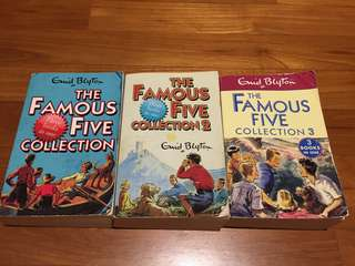 Enid Blyton : Famous Five Collection (3 stories in 1 collection)