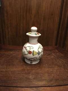 七八十年代白地瓜蝶豉油壺