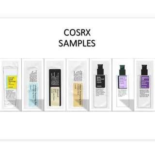COSRX Sample Size sachets