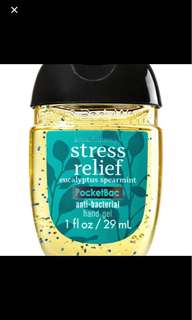 Bath and Body Works Stress Relief Hand Gel