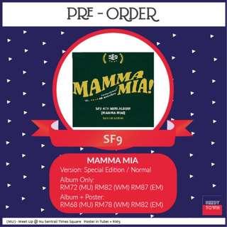 (PRE-ORDER) SF9 - MAMMA MIA