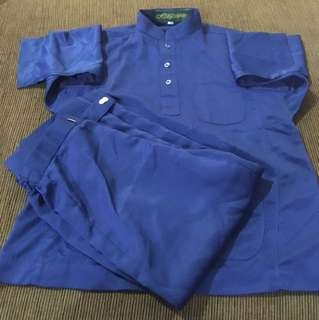 Baju Melayu free samping&butang baju (013)