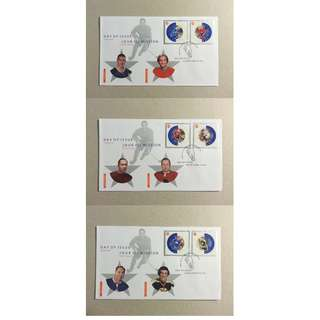 加拿大 CANADA - 2002 NHL All Stars FDC Set of 3 MNH