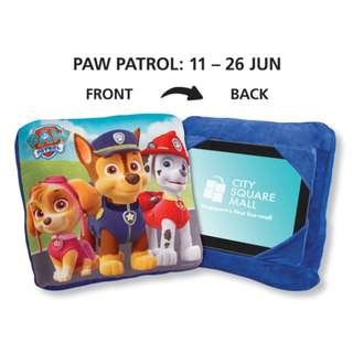Nickelodeon Paw Petrol Cushion and Tablet Holder