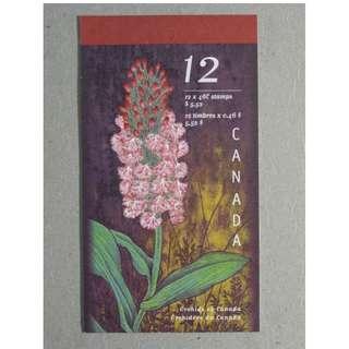 加拿大 Canada - Orchids of Canada Stamps Block MNH