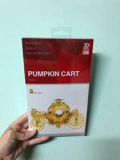 3D Metal Puzzle - Pumpkin Cart
