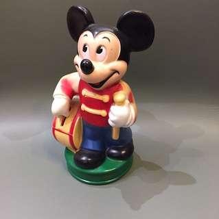 1970 年代 Disney 正版古董米奇 日本限定版 22cm高 $180
