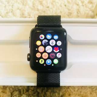 Apple Watch Series 2 (42mm) - with full box and extra straps
