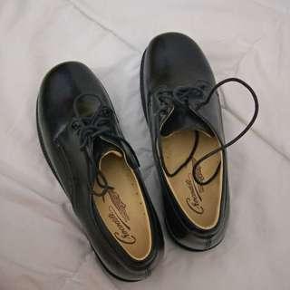 🔆Crocodile🐊黑色女皮鞋(26號)