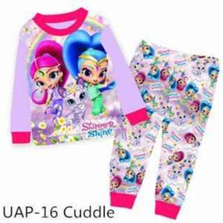 Shimmer and shine pyjamas set