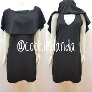 Rennie Black Nursing Dress