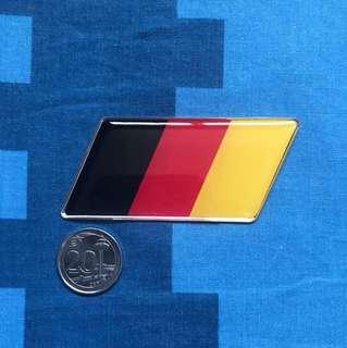Germany Flag Emblem For Cars