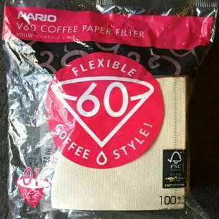 Brand New Hario V60 VFC-01-100M