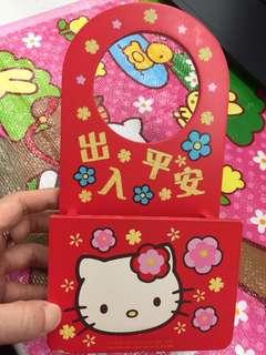 Hello Kitty vintage 信架 筆架 收納