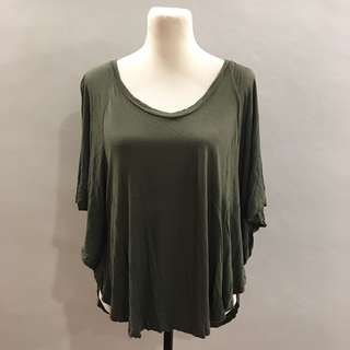 Forever 21 loose army top