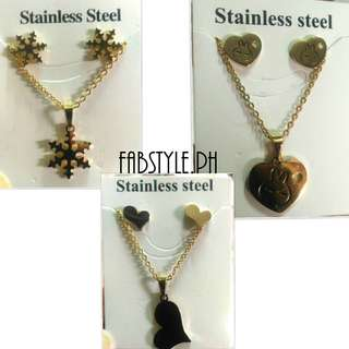 Stainless Steel 2in1 Necklace