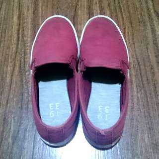 Lacoste slip-ons
