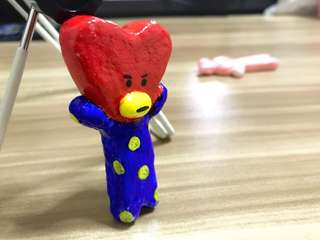 Bt21 Cooky & Tata cord wrapper models, customisable