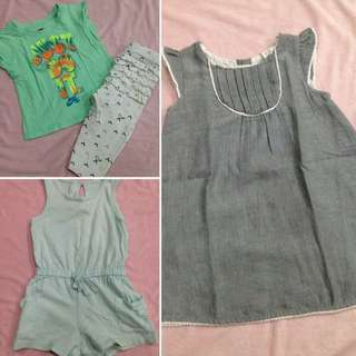 Preloved bundle 5 for baby girls