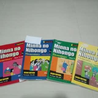 Minna no Nihongo Japanese Book