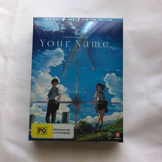 Your Name (Limited Edition)