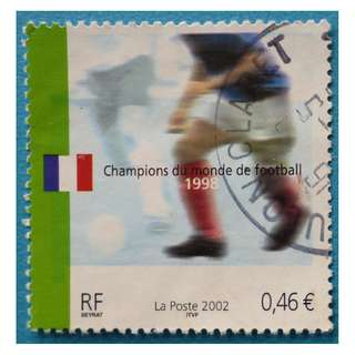Stamp France 2002 Football World Cup in South Korea and Japan Euro 0.46