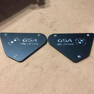 GSA Singapore crashbar plate
