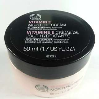 the body shop ve facial cream