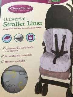 SALE!! BRAND NEW Clevamama Stroller Liner