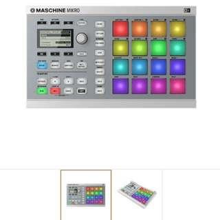 Native Instruments Maschine Mikro MK2 Groove Production, White