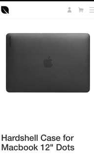 MacBook 12 incase hardshell case