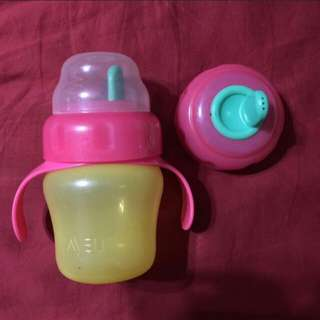 Used Avent water bottle