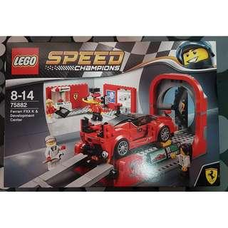 LEGO Speed Champions Ferrari FXX K and Development Center