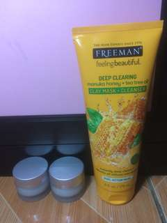 Freeman Manuka Honey + Tea Tree Oil Share in Jar