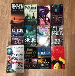 Cheap fiction books for sale