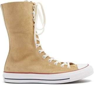 Converse x JW Anderson beige x jw anderson suede high-top trainers