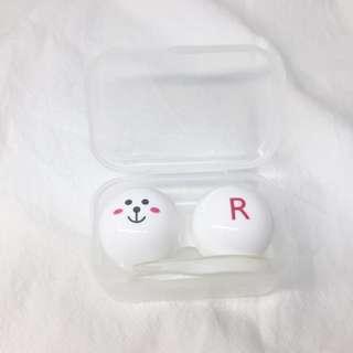 兔兔隱形眼鏡盒