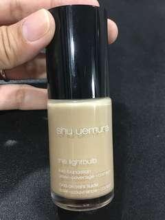 Pre-Owned Shu Uemura The Lightbulb Fluid Foundation Cosmetic Skincare Face