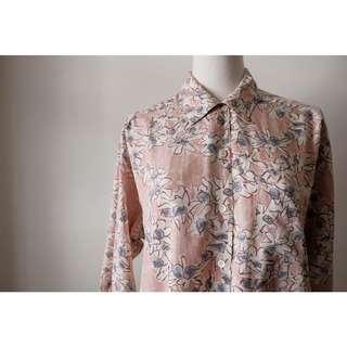::FlowerHolic:: Vintage 古著長袖襯衫 096