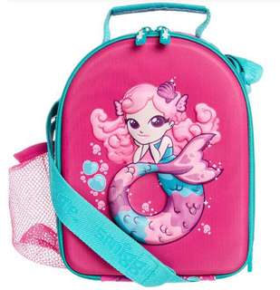 Mermaid Curved hardtop lunchbox w/ strap