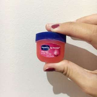 Vaseline Lip Therapy Pink